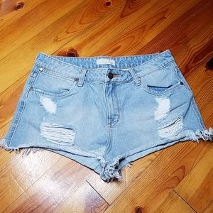 BP Distressed Jean Shorts